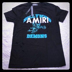 😈 AMIRI Demon T-Shirt large black